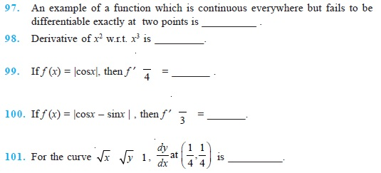 Worksheets Grade 12 Work Sheet On Limit And Continity 12 important questions for maths continuity and differentiability class differentiability