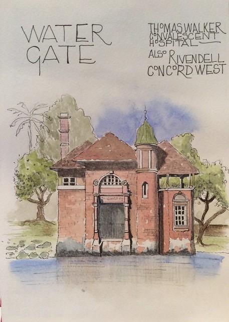 Water Gate...Rivendell in Concord, Apple iPad mini 3, iPad mini 3 back camera 3.3mm f/2.4