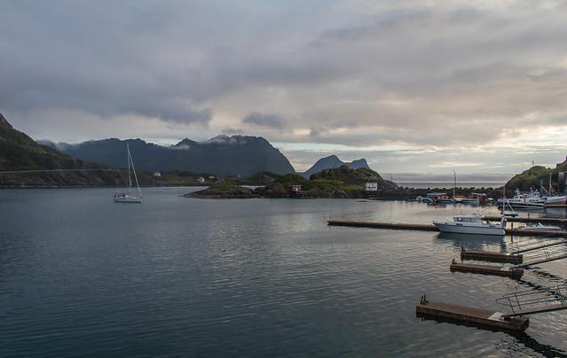 Our view in Hamn i Senja