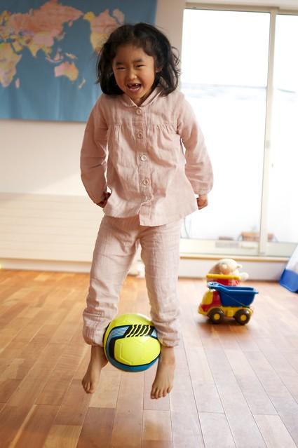 少林サッカー少女