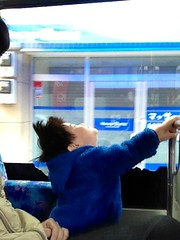 ハチ公バスにて 2013/4/1