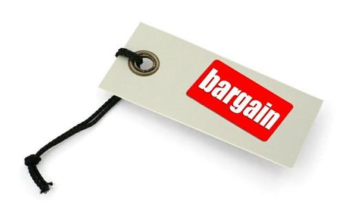 Bargain tag