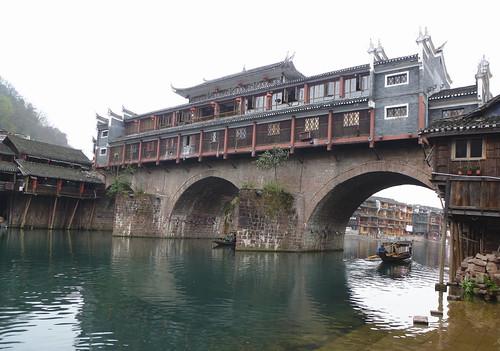 Hunan13-Fenghuang-Ville-Rive Nord (58)