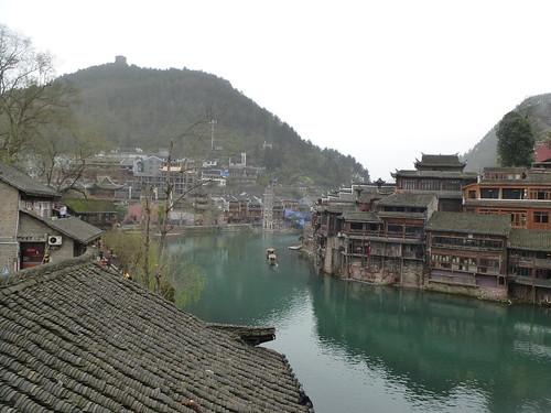 Hunan13-Fenghuang-Ville-Rive Nord (37)