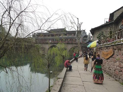 Hunan13-Fenghuang-Ville-Rive Nord (3)