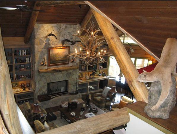 Custom Log Home Interior Explore Truenorthloghomes 39 Photos