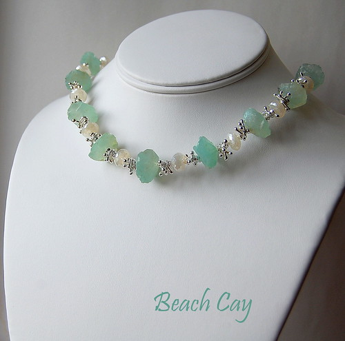 Beach Cay Necklace by gemwaithnia