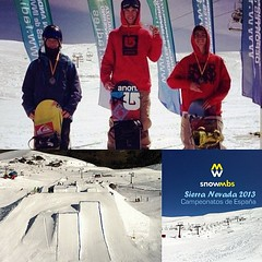 Mauro Borras Season finish Slopestyle in Sierra Nevada