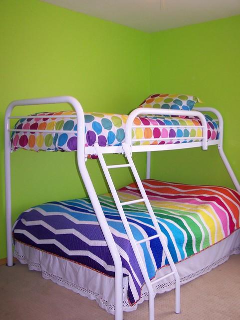 Rainbow Bunkbeds