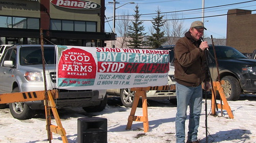 Day Of Action to Stop GM Alfalfa