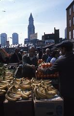 Fruit vendor at Haymarket