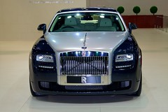 Rolls-Royce Ghost at the 34th Bangkok International Motor Show