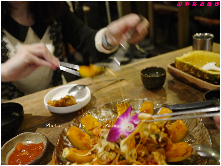 惠化 반저 水果燒酒與海鮮起司南瓜盅