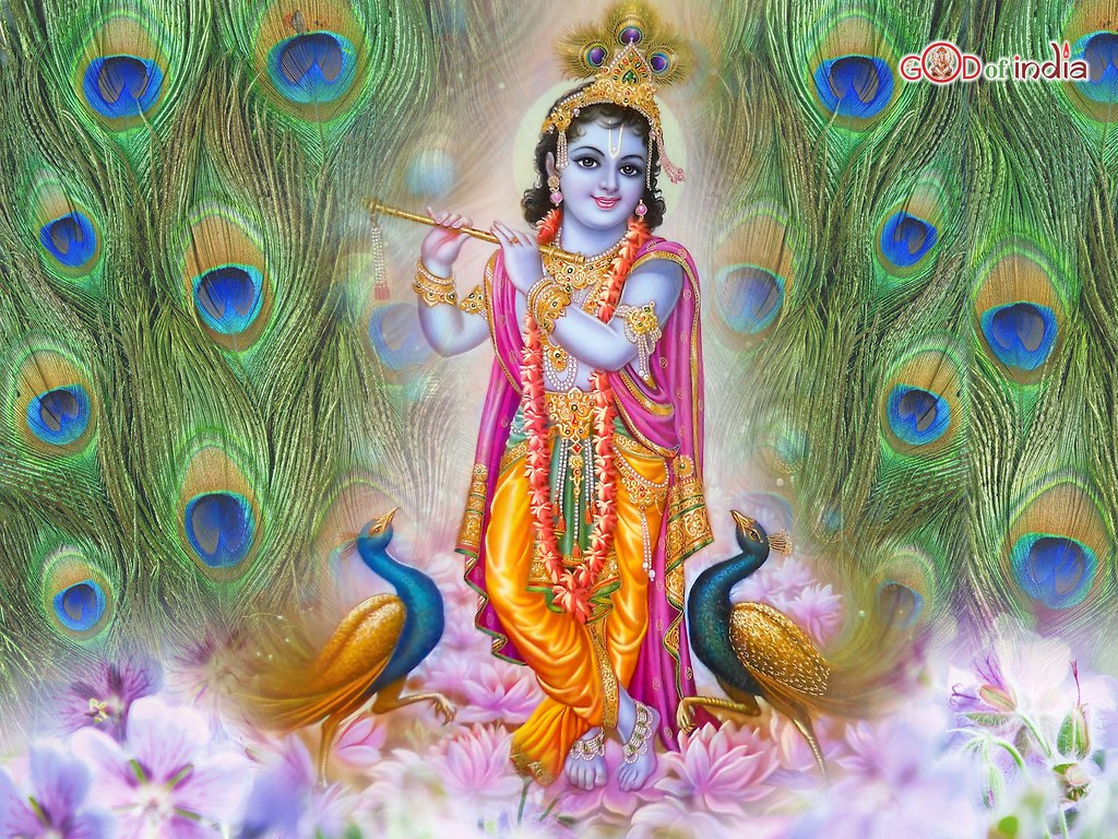 Top Best Krishna with murli Wallpapers for free download