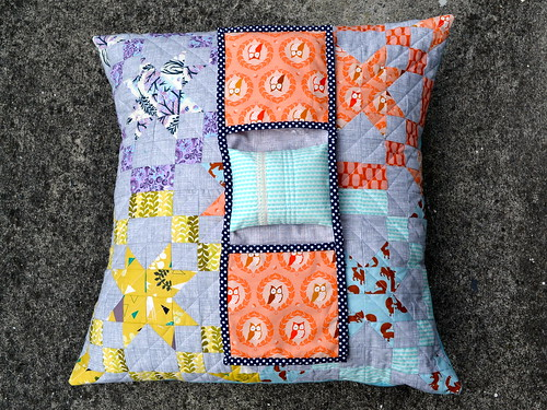 Modernista Homemade cushion and pincushion