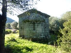 L'arrière de la chapelle de San Quilicu
