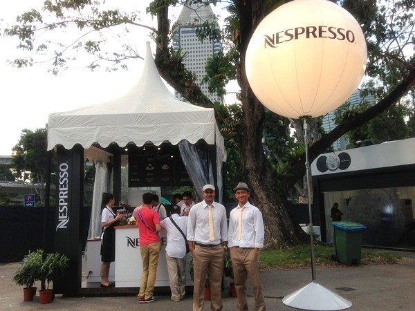 nespresso coffee - savour 2013 singapore  (1)