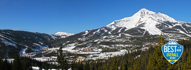Mountain Village & Lone  Peak 3-27-13 on the snow shield (sized for web)