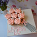 Mother's Day Bouquet on iced board by Little Paper Cakes