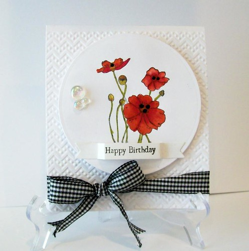 Poppies by Penny Black by judkajudy