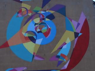 Graffiti mit Zeitplan  375