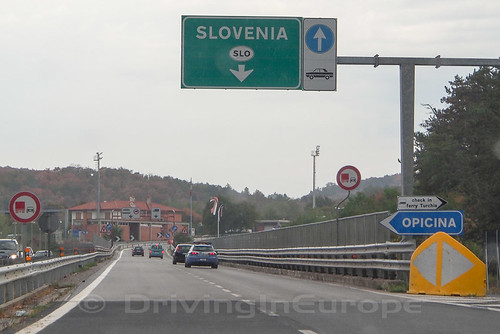 スロベニアに入る