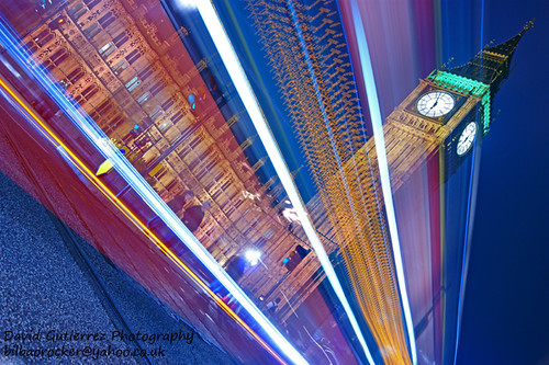 London Night Trails by david gutierrez [ www.davidgutierrez.co.uk ]