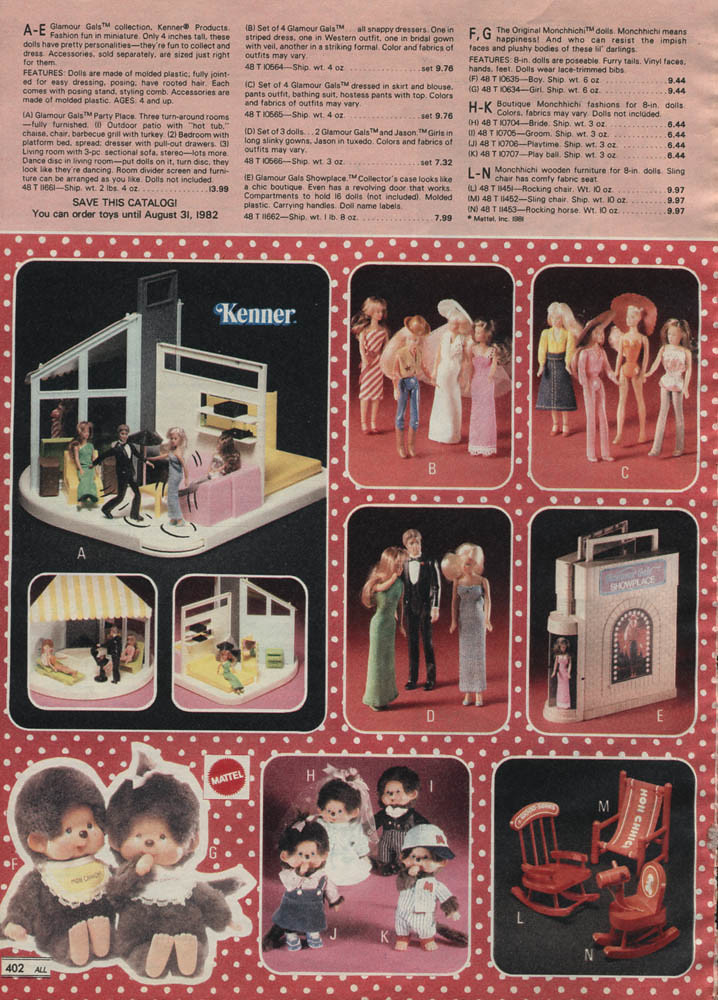 1981 Montgomery Ward Christmas Catalog page 402 | dollyhaul | Flickr