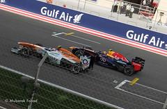 Red Bull vs Sahara Force India