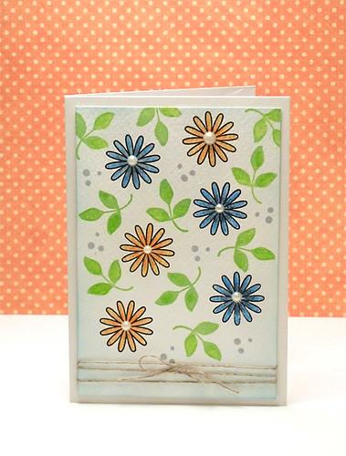 Flower card #152