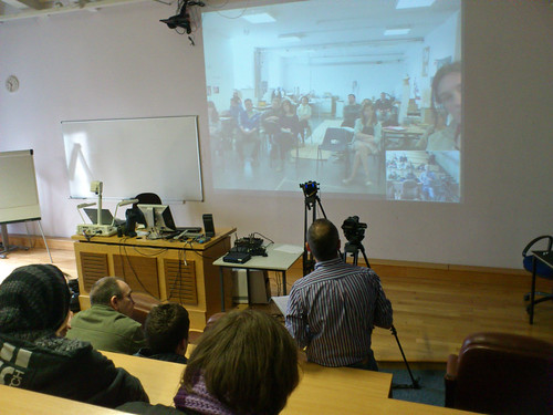 In a Kinaesthetics Seminar