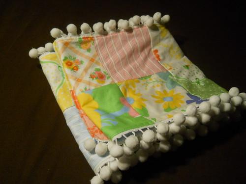 folded scarf