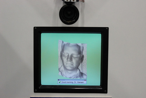 Image of Dr Hansen recognised by the Photoface software