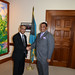 Assistant Secretary General Meets with Prime Minister of The Bahamas