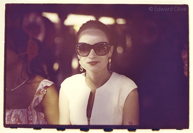 Young lady in sunglasses - Edward Olive wedding photographer Marbella Puerto Banus fotografo de boda