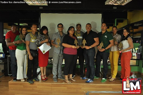 Premiación Body Transformation en Gold's GYM Moca