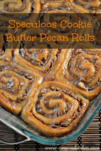 Speculoos Cookie Butter Pecan Rolls 1