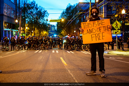 Seattle's Mayday 2013: The Land of the Free by Michael Holden