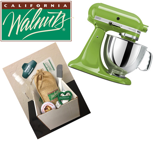 mixer and walnuts and logo small