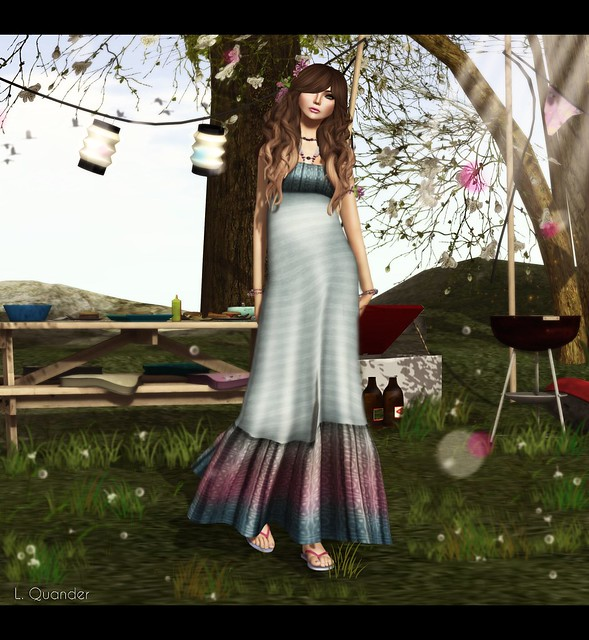*{ SeVered GarDeN }*  Jamila - sky by Berta Avro  & :CP: Cassie Backyard Barbecue by Isla Gealach