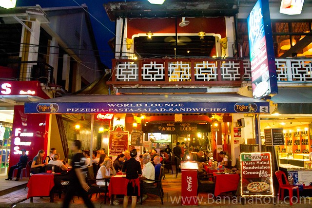 Dinner at World Lounge Restaurant Siem Reap