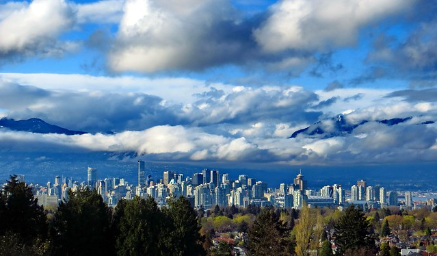 View from Queen Elizabeth Park