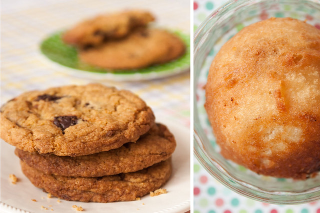 Chocolate Chip Cookies and Deep Fried Cookie Dough