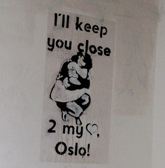 I'll keep you close to my heart, Oslo!