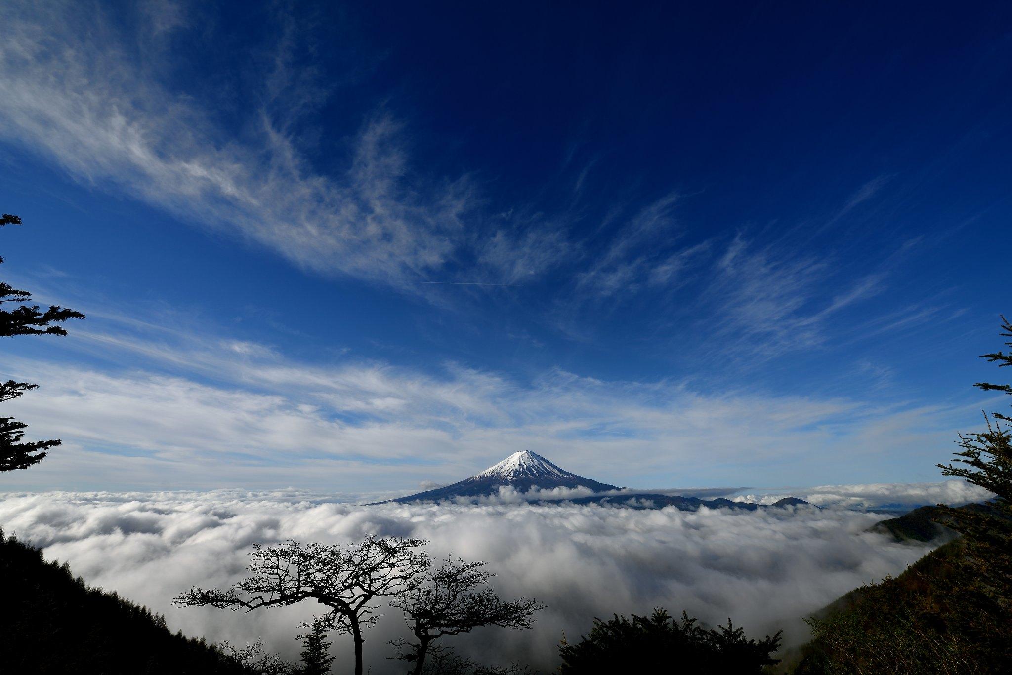近景富士(新道峠)