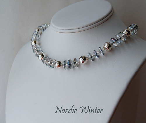 Nordic Winter Necklace by gemwaithnia