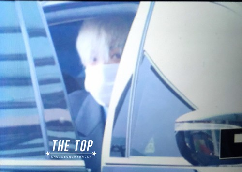 G-Dragon & TOP - Incheon Airport - 30jan2015 - TOP - The TOP - 02