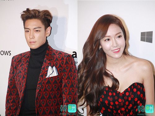 TOP - amfAR Charity Event - Red Carpet - 14mar2015 - Korea Star Daily - 01