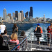 "Seattle Skyline from the ""Doc Maynard"" water taxi. by Contrails"