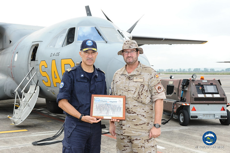FCDR visits the Spanish Detachment Grappa – EUNAVFOR MED